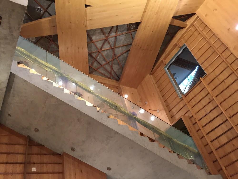 櫃台前,抬頭的另一個小風景。.JPG