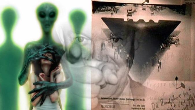 Os EUA permitem que abduzão os seres humanos em troca da tecnologia extraterrestre 01
