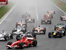 Start of Formula One Grand Prix of Hungary
