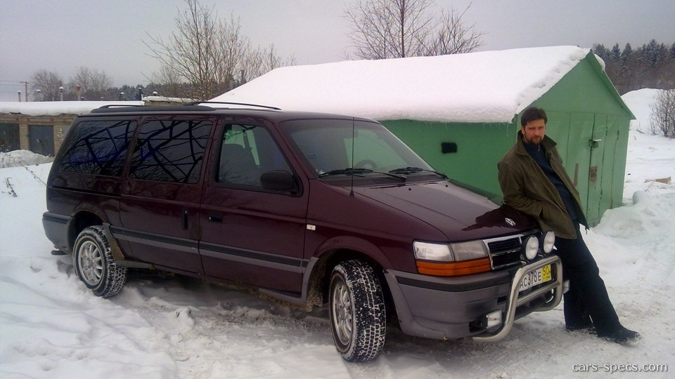 1994 chrysler town and country minivan