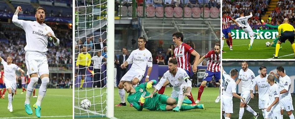 Atletico Madrid Vs Real Madrid Highlights Spanish La Liga   Match