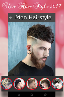 Men Hair Style 2017 (offline) - náhled