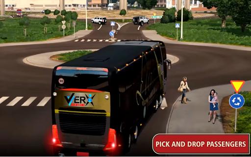 Modern Offroad Uphill Bus Simulator 1.4 screenshots 4