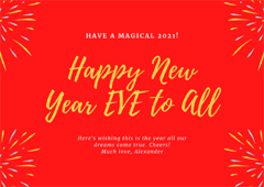 Happy New Year Eve 2020-2021 Status, Quotes & Wishes