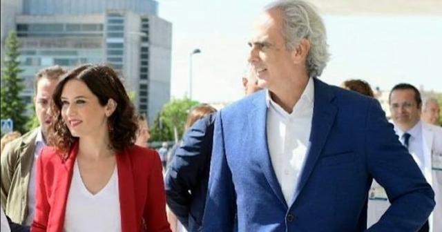 Díaz Ayuso y Ruiz Escudero