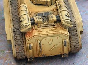 weathering tank treads