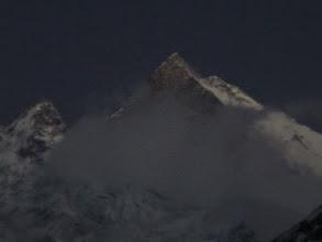 Photo: Mondaufgang am Machepuchare
