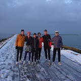 Parnassia-Pier-Parnassia loop 1e Kerstdag 2010