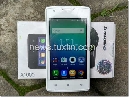 Unboxing Lenovo A1000
