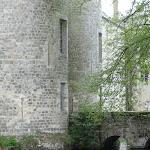 Maison Jean Cocteau : vue sur les douves du Château de Milly-la-Forêt