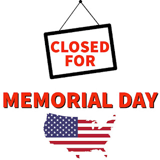 Closed for Memorial Day Sign 2021, Printable, Image, 2021, Sign, Symbol, Download