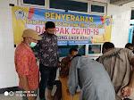 Kepala Desa Lhok Kuyun bagikan Bantuan Langsung Tunai (BLT) kepada masyarakat