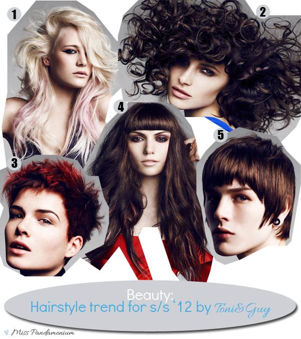 Collezione Toni&Guy s/s'12 Alignment, capelli, tagli, hairstyle