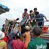 ein Roller wird nach Koh Phayam transportiert