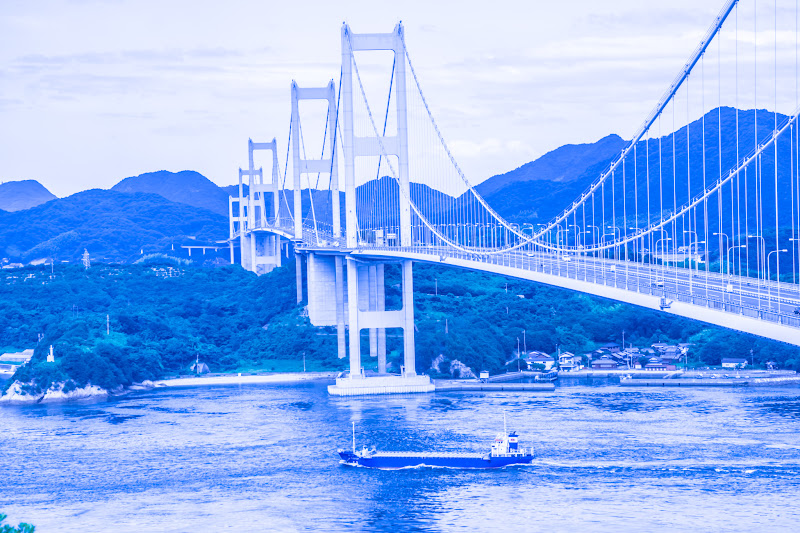 来島海峡大橋 糸山公園展望台 3