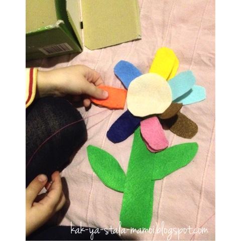 как сделать подарок маме своими руками, творчество с детьми, французский язык для детей,