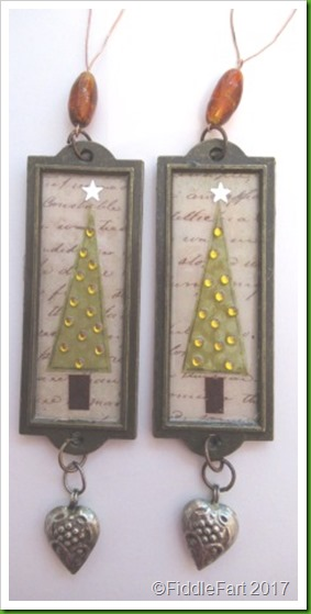 Label Holder Christmas Tree Decorations