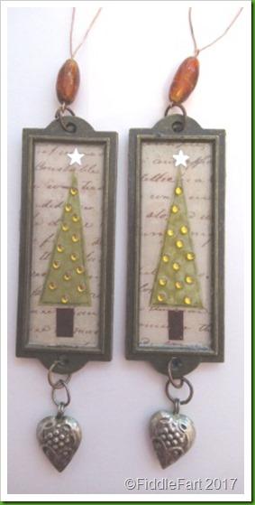 Label Holder Christmas Tree Decorations