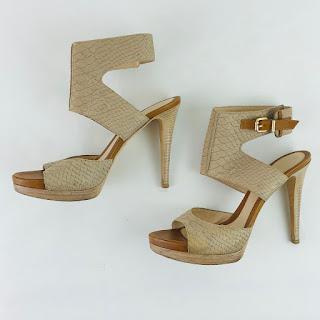 Fendi Python Sandals