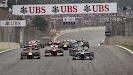 Start of the 2013 Brazilian F1 GP