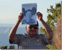 Ranger Marvin of Hopi Descent, Desert View, Grand Canyon