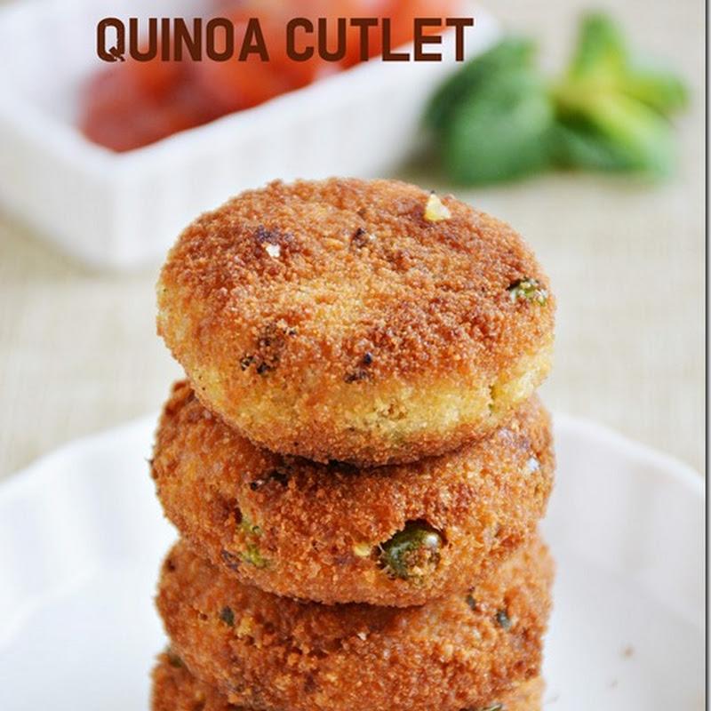 Quinoa cutlet