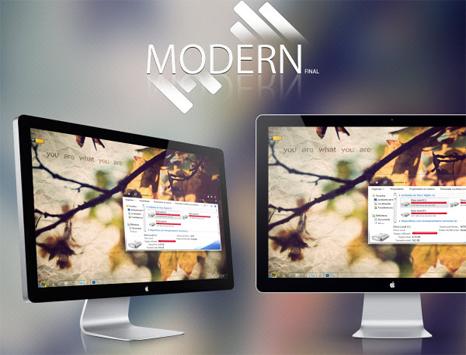 Modern Final [ Windows 7 Visual Style ]