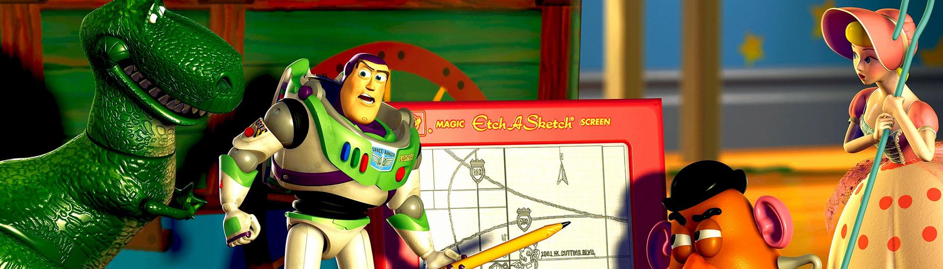 Baner filmu 'Toy Story 2 3D'
