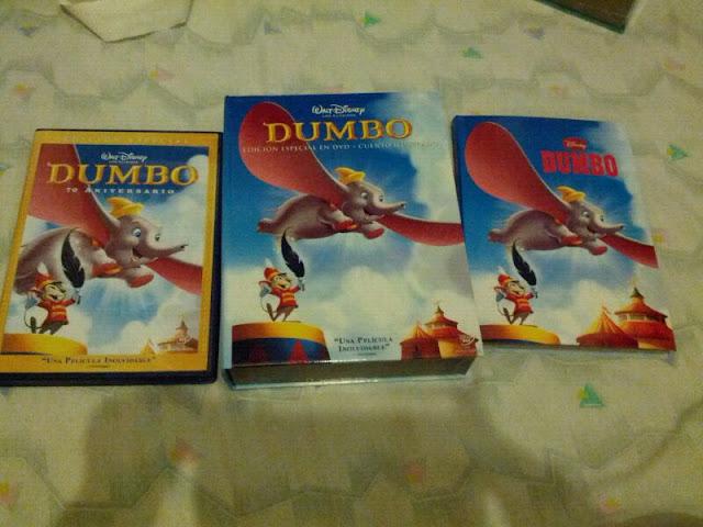 Película Dumbo + Cuento ilustrado + Caja