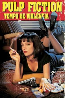 Capa Pulp Fiction – Tempo de Violência Torrent