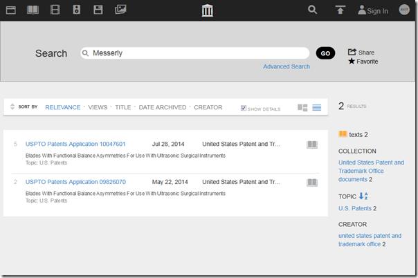 互联网档案's标题搜索结果