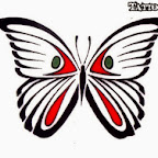 blank red - Butterflies Designs