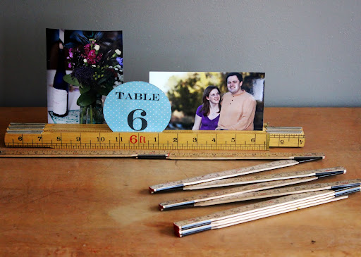 Folding rulers available for rent from www.momentarilyyours.com, $1.00 each.