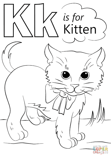 Kitten Coloring Pages To View Printable Version Or Color It Online  Patible With Ipad And Android Tablets