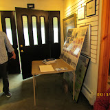 Guests exhibit their tornado momentos.