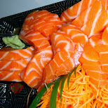 SALMON SASHIMI in Scarborough, Ontario, Canada