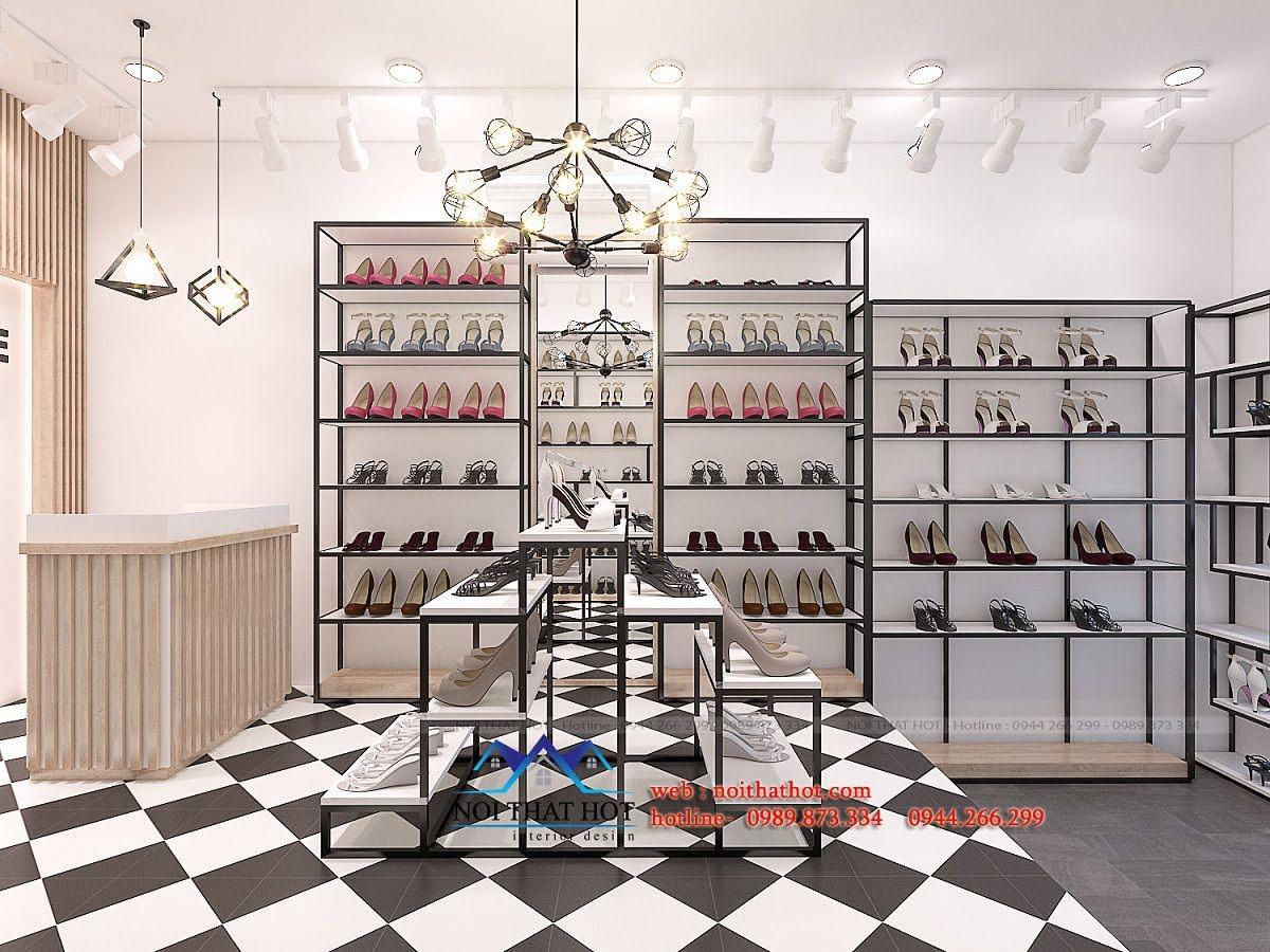 thiết kế shop giày dép timon 5