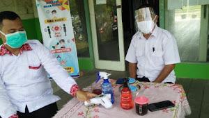 KBM Tatap Muka yang Dimulai di SMK 1 Negeri Tanjabbar Berjalan Lancar