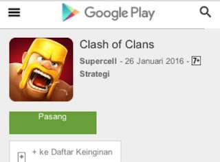 penghasilan game clash of clans coc 65 milliar perhari