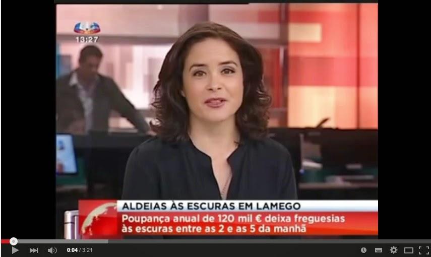 Reportagem SIC - Aldeias às escuras em Lamego