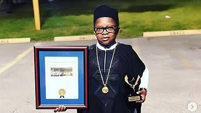 Nigeria's Midget Actor Ikedieze Gets U.S Award.