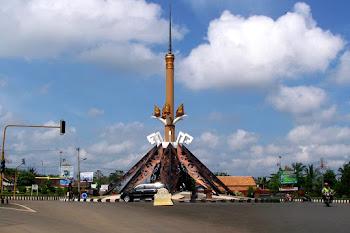 Tugu Payan Mas. Kotabumi Lampung Utara