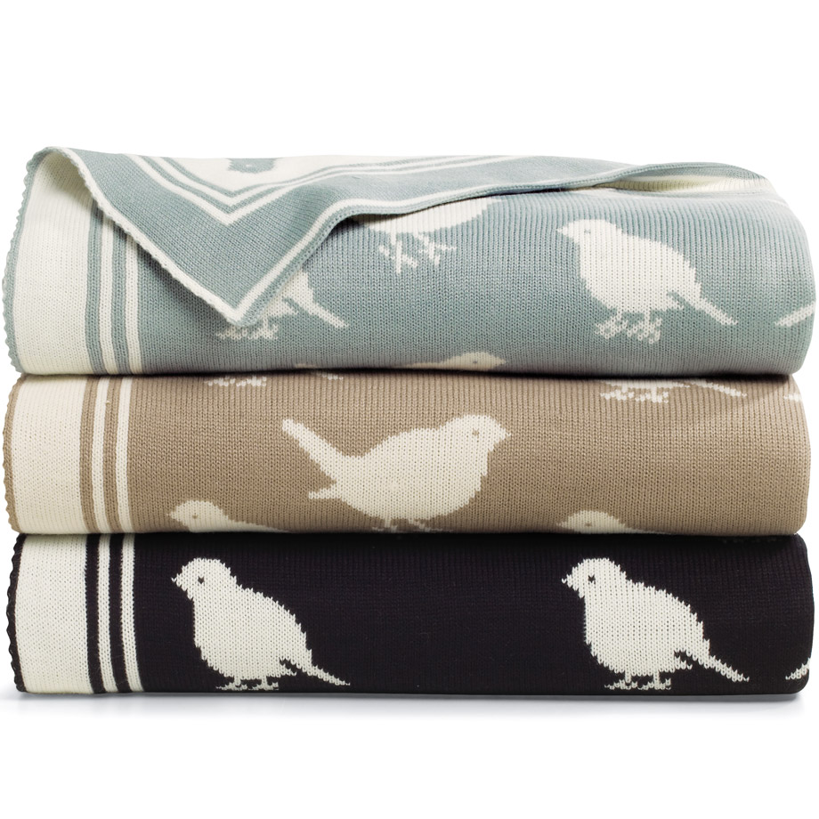 Z Gallerie Decorative Bird Throw Copycatchic