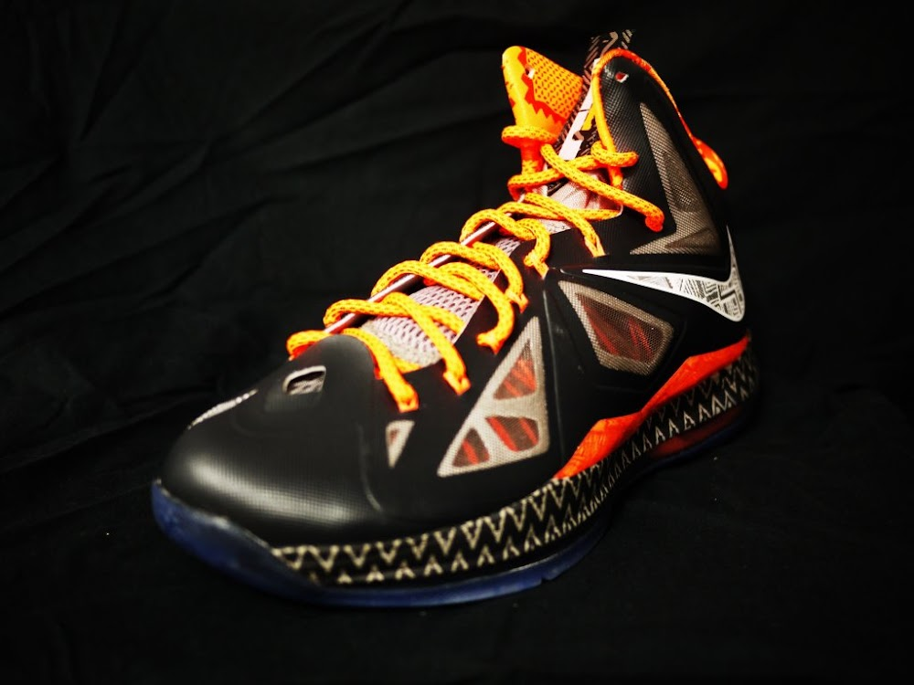 ... Closer Look at Nike LeBron X 8220Black History Month8221 Exclusive ... df80e0e3eb