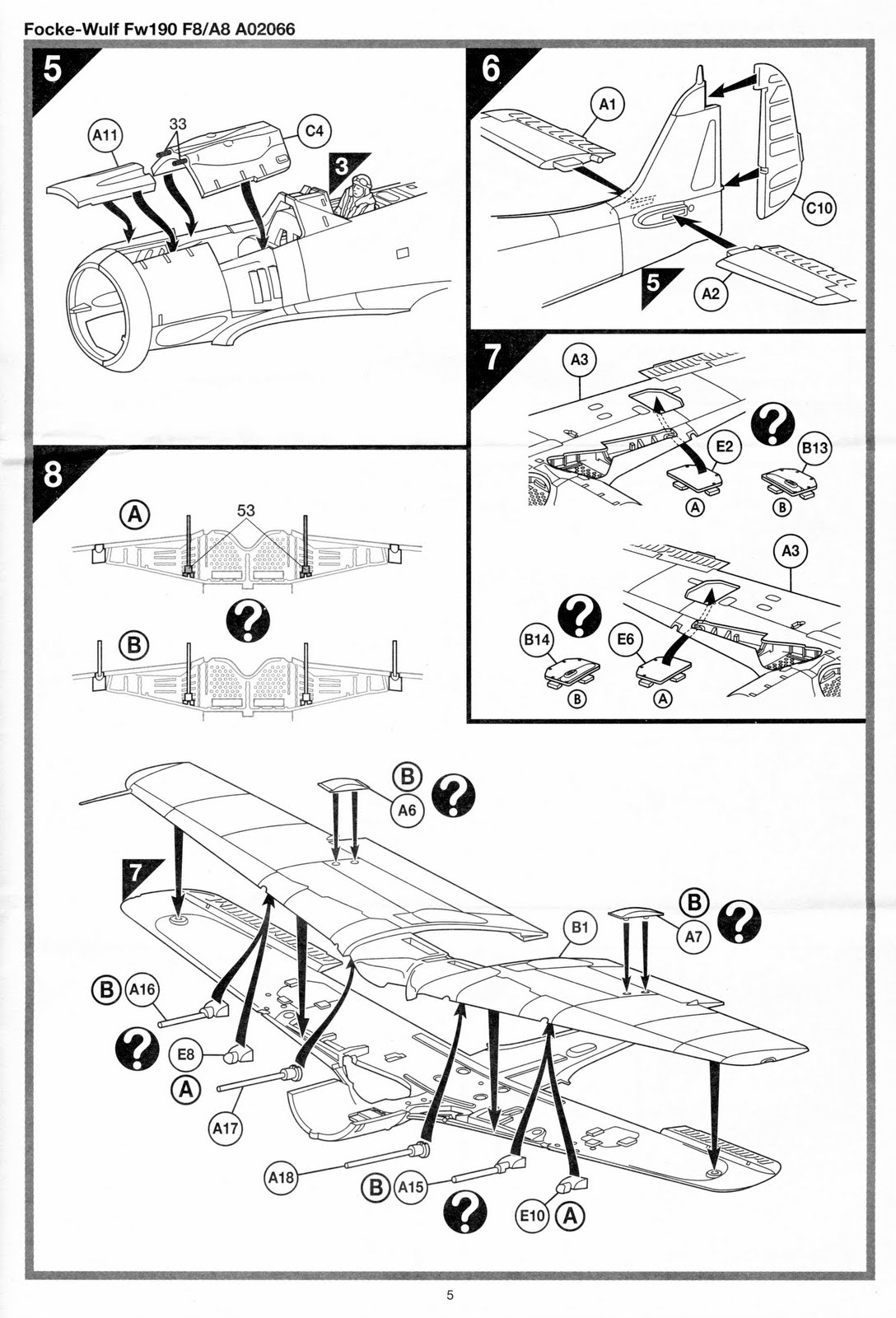 airfix tribute forum instructions