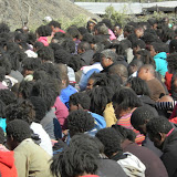 Bojale initiates, over 1,000 of them