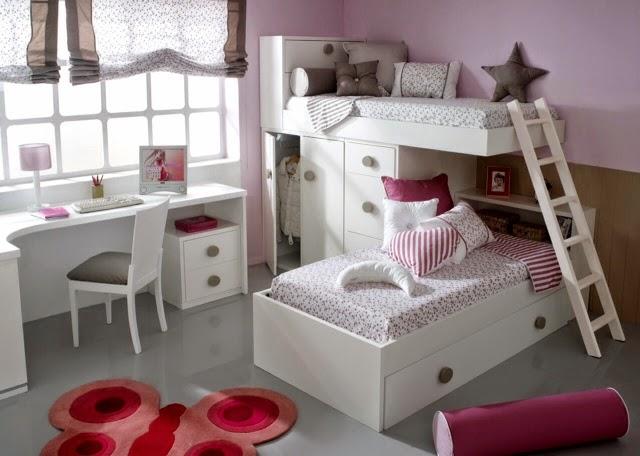 litera tipo tren lacada con cama alta con un arcn en el de la cama alta combinado armario y modulo de sale una segunda cama