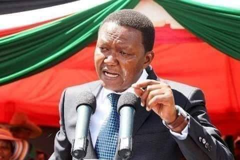 Governor Alfred Mutua crying for love photo