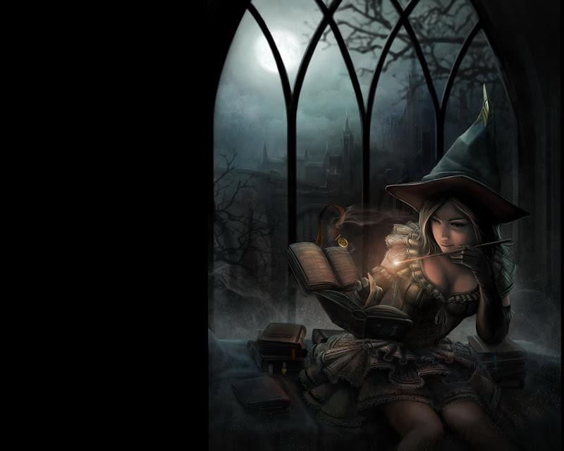 Beauty Of Beautiful Magician, Sorceress 2