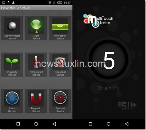 Benchmark Infinix Zero 3 X552 Sensorbox